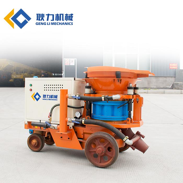 耿力PZ型混凝土喷射机职责道理及产物上风、喷射